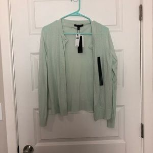 NWT banana republic mint cardigan